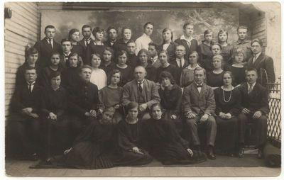 Marijampolės mokytojų seminarijos choras 1924 m.