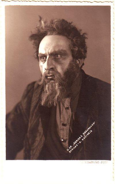 Antanas Kučingis - Borisas Modesto Musorgskio operoje Borisas Godunovas