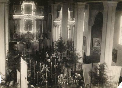 Mamerto Žilinsko laidotuvės Šv. Angelų Sargų bažnyčioje