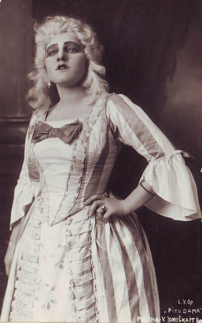 Vincė Jonuškaitė - Polina Piotro Čaikovskio operoje Pikų dama