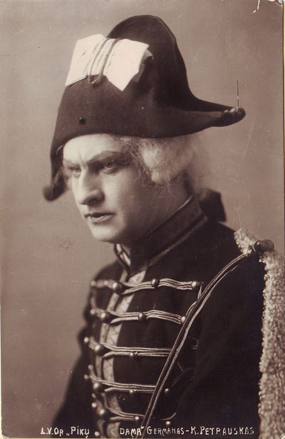 Kipras Petrauskas - Germanas Piotro Čaikovskio operoje Pikų dama