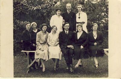 Subačiaus miestelio mokytojai 1930
