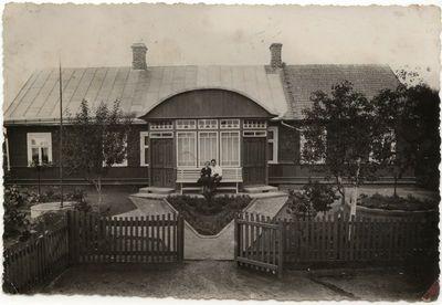 Pileckių gyvenamas namas Marijampolėje.