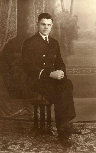 Portretinė P. Balkio fotografija