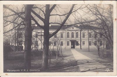 Marijampolės Rygiškių Jono gimnazija  20 a. - I pusė