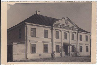Marijampolės pašto rūmai. 20 a. I -a pusė
