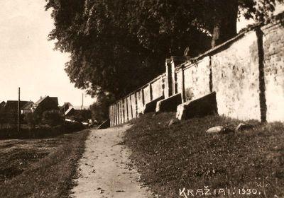 Kražiai. 1930