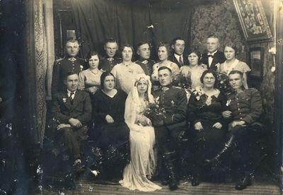 Ulono Rimgaudo Radveikio ir Marytės Matulevičiūtės vestuvės