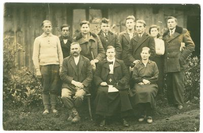 Ablingos ir Žvaginių (Klaipėdos r.) kaimų gyventojai