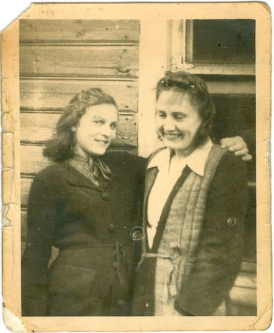 Danutė Juraitytė su savo teta