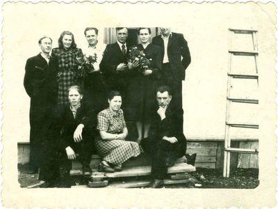 Tremtinės Aldonos Sabaitytės ir politinio kalinio Leono Vilučio vestuvės