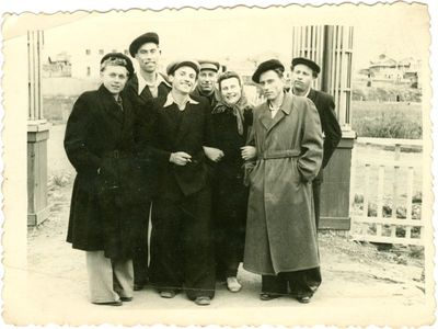 Lietuviai politiniai kaliniai Intos mieste