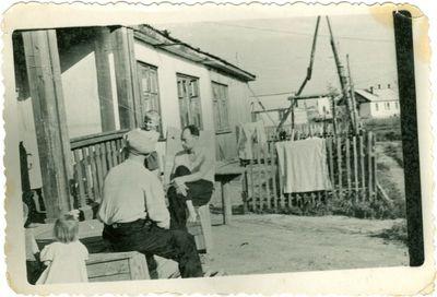 Barakas Intoje, kuriame gyveno lietuviai politiniai kaliniai