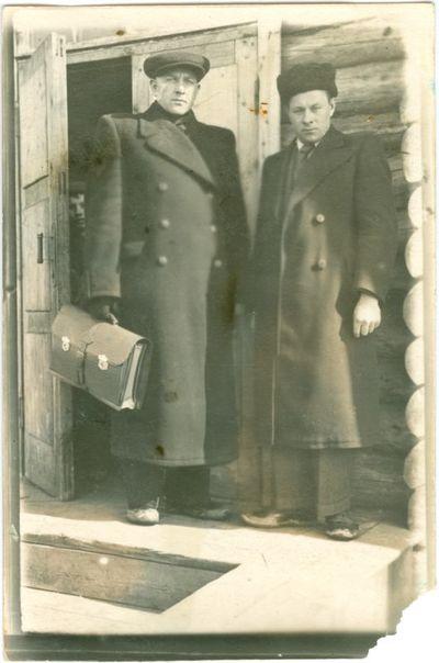 Politiniai kaliniai Benediktas Vaišnora ir Boleslovas Cibulskas