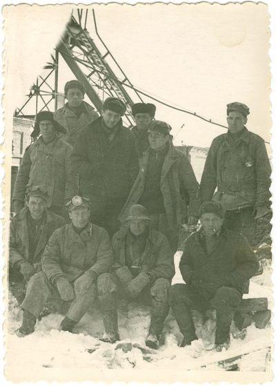 Politinių kalinių šachtininkų brigada iš 15-tos Intos šachtos