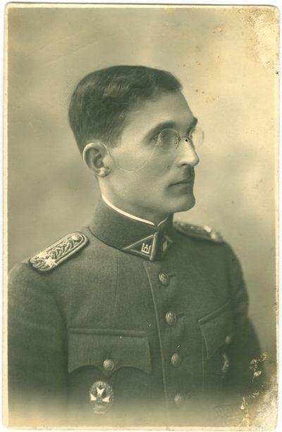 Tarpukario Lietuvos kariuomenės kapitonas Antanas Staronis (Staranevičius)