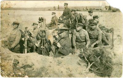 Tarpukario nepriklausomos Lietuvos kariuomenės pratybos