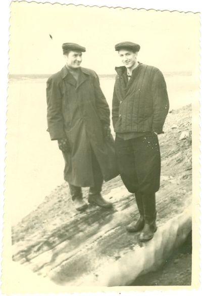 Vorkutos lagerio politiniai kaliniai ant ledo lyties