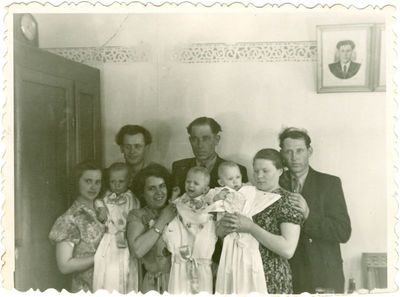 Lietuvių politinių kalinių vaikų krikštynos Vorkutoje