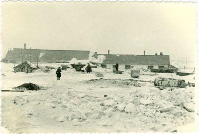 Vorkutos gyvenvietė žiemą