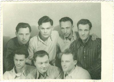 Būrelis politinių kalinių Vorkutos lageryje