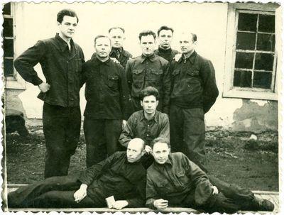 Būrelis sovietinio režimo politinių kalinių iš Vorkutos lagerio