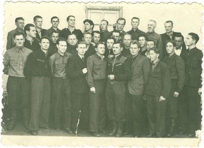 Grupė sovietinio režimo politinių kalinių Vorkutos lageryje