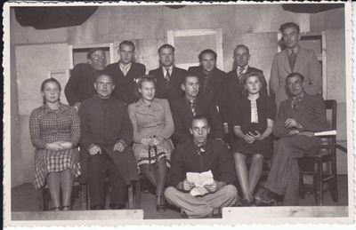 Marijampolės cukraus fabriko saviveiklininkai 1935m.