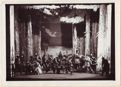Scena iš Nikolajaus Rimskio-Korsakovo operos Kitežas