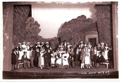 Scena iš Frydricho Flotovo operos Marta