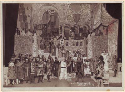 Scena iš Richardo Vagnerio operos Tanhoizeris