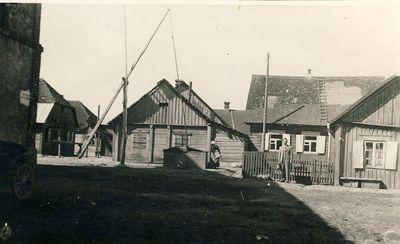 Ugniagesių g - vė Kupiškyje 1938 m.