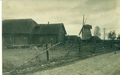 Senieji Kupiškio pastatai ir malūnas