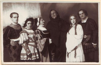 Šarlio Guno operos Faustas pagrindinių vaidmenų atlikėjai
