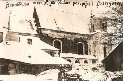 Benediktinių vienuolyno bažnyčia