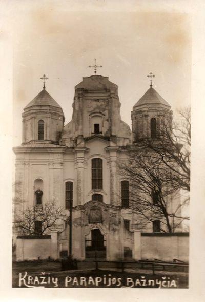 Kražių parapijos bažnyčia