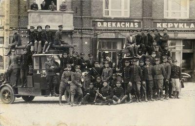 Alytaus miesto savivaldybės ir Didžiosios kunigaikštienės Birutės 2-ojo ulonų pulko ugniagesių komandos