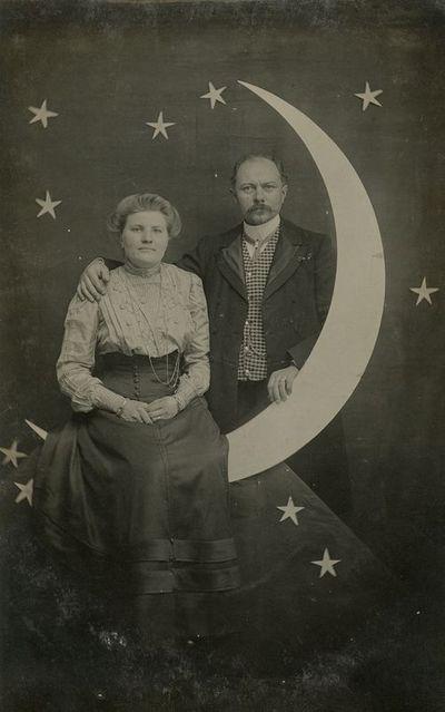 Škotijos lietuvių visuomenės veikėjas Petras Bancevičius su žmona