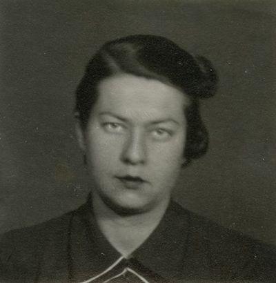 Gražutė Šlapelytė – universiteto studentė