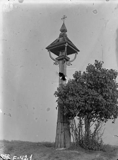 Kryžius Grybų kaimo kryžkelėje