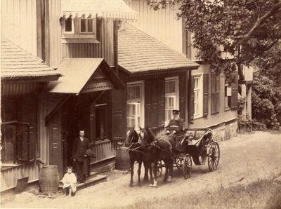 Buvusio Markučių dvaro sodybos gyvenamojo namo vaizdas