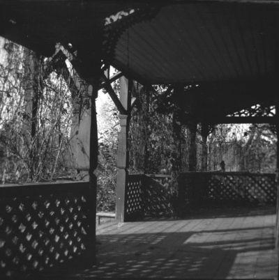 Buvusio Markučių dvaro sodybos gyvenamojo namo veranda