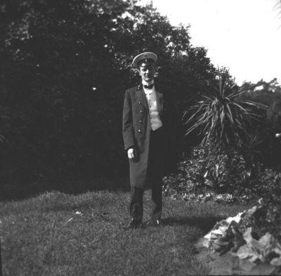 Portretas buvusioje Markučių dvaro sodyboje
