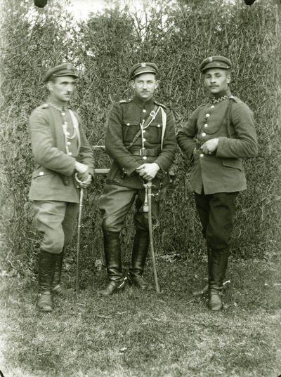 Lenkų kariai Santakoje