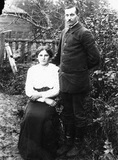 Ignas Šilkinis su Marija Žvikevičiūte