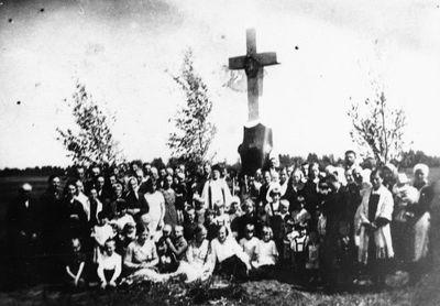 Kryžius uždraustai Šv. Kazimiero draugijai atminti
