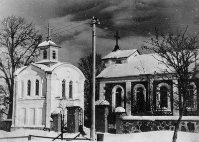 Strūnaičio bažnyčia žiemą