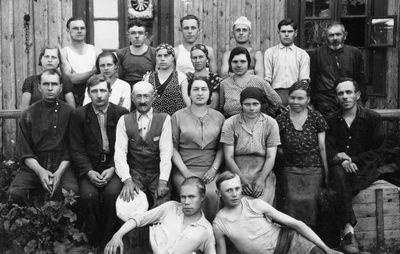 Liulinskio veltinių fabriko darbininkai