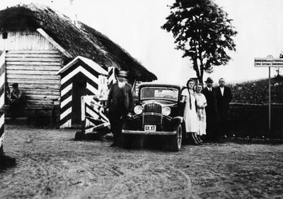 Vyresnybės vizitas į Lietuvos ir Lenkijos pasienį