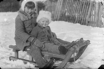Vaikai ant rogių